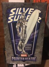 Chrome SILVER SURFER Statue by Bowen designs 450 of 1165 NEVER DISPLAYED