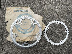 Campagnolo chainrings 52/42 vintage road bike cranks Record Brev Campag