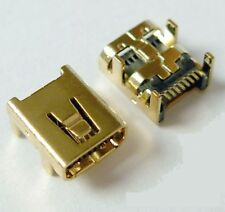 Connecteur à souder Mini USB femelle 8 broches Female connector to solder 8 pins