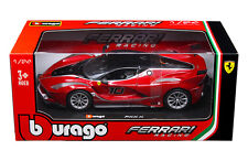 Bburago Ferrari FXX-K Race Car Red 1/24