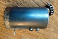 Hand Crafted custom steel oil bag tank BSA Triumph 500 650 750 Harley 883 1200