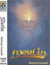 Medwyn Goodall ‎Merlin CASSETTE ALBUM Electronic Ambient, New Age