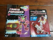 HASBRO - TRANSFORMERS G1 STORMTROOPER  DECEPTICON  + SLINGSHOT on CARDS