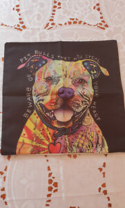 Pit Bull Lovers Pillow Case Brand New