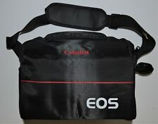 Brand New Canon EOS DSLR Models Shoulder Strap Camera Bag Black/ Red
