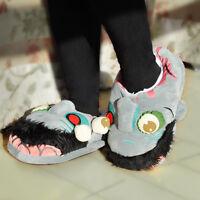 Zombie Plüsch Hausschuhe Pantoffeln Schlappen Haus Schuhe Größe 27.5cm Slippers