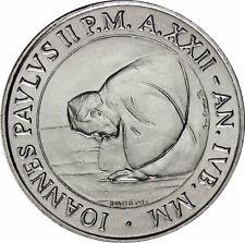 Vatikan vorm Euro 50 Lire 2000 bfr. Papst Johannes Paul II, Münze in Münzkapsel