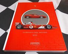 2004 Ferrari Yearbook brochure annuelle F1 rapport F2004 F430 275 GTB GTS 575 M RARE