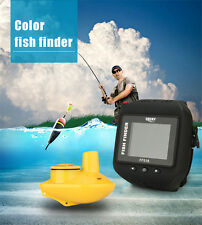Watch Type Fish Finder Wireless 60M English/Russian/German/Hungarian Adjustable