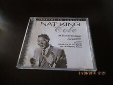 NAT KING COLE CD THE MAGIC OF THE MUSIC