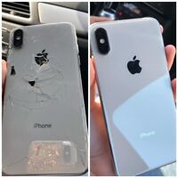 iPhone X / XS / XR / XS Max Cracked Back Glass Repair