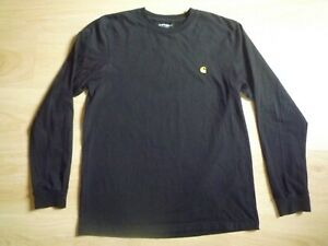 Carhartt Chase Long Sleeve Cotton T-Shirt Size M
