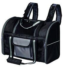 Trixie Sac à Dos Transport pour Chats ou Petits Chiens 42 × 29 × 21 cm, Noir