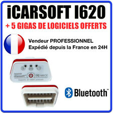 Interface iCARSOFT i620 BLUETOOTH - Puce ELM327 ÉVOLUTIVE - Diag OBD - COM