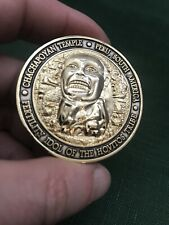 Indiana Jones Chachapoyan Temple Challenge Coin Fertility Idol Peru South A.