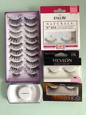 14 Pairs False Eyelashes Lashes Falsies Various Brands & Styles, MAC/Eylure/ Etc