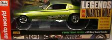 GREEN 1971 CHEVROLET CAMARO FIGHTING IRISH FUNNY CAR AUTO WORLD 1:18 SCALE MODEL