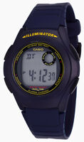 Casio Men's 10-Year Battery Digital Blue Resin Watch F200W-2B