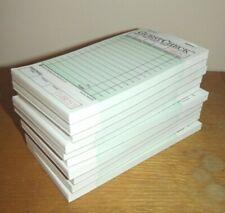 "Sysco Numbered Guest Checks, 3-1/2"" x 6-3/4"", 10 ct 50 Checks per Book"