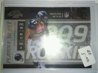 Knowshon Moreno 2009 Playoff Contenders Rookie card