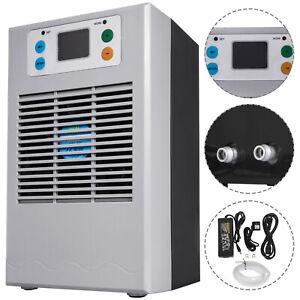 35L 100W Fish Tank Shrimp Aquarium Water Chiller Cooler Fan Machine Thermostat