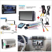 """Écran HD 7"""" voiture Bluetooth radio audio stéréo MP5 MP3 Player + vue arrière caméra"""