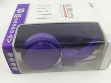 New in Box Vivitar DJ Mixers Foldable headphones Purple  Compact Edition