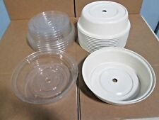 "Lot Of (18) ""Cambro"" Heavy Duty Commercial Assorted 11"" Plate Dome Cover/Lids"