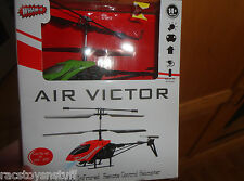 AIR VICTOR MINIATURE REMOTE CONTROL HELICOPTER, NEVER OPENED, GREEN TONED
