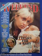 Weekend Magazine - Susan George, Wayne Sleep, Barry McGuigan  2nd Oct.1985