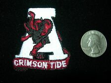 """CRIMSON TIDE"" EMBROIDERED IRON ON PATCH - NCAA (Fast Free Shipping)"