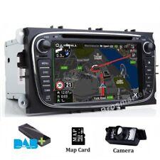 DAB+Car Stereo Radio SatNav GPS Bluetooth swc for Ford Focus/Mondeo/C-MAX/Galaxy