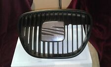 seat Ibiza black middle bumper grill chrome badge 02/08 sportsrider dab fr cupra