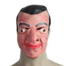 Cute Funny Mr Bean Celebrity Face Mask for Halloween Costume Party