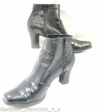 Authentic FRANCO SARTO BOOTIE Black BOOTIES ANKLE Boots Shoes heels SIZE 7 M