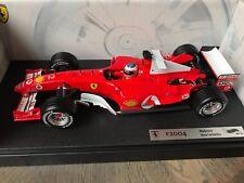 F1 Ferrari F2004, Rubens BARRICHELLO, 1/18 NEUF avec boite d'origine