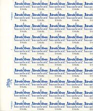 More details for usa-united states 1981 18c postage alcoholism sheet scot 1927 mnh