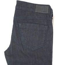 Diesel Women's Dark Wash 0rz74 Livier Stretch Super Slim Flare Jeans 32 X 32
