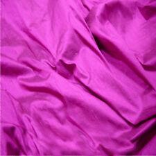 100% Raw Silk Dupion Fabric OVER 80 COLOURS! High Quality Silk Fabric