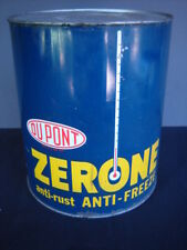 VINTAGE DUPONT ZERONE ANTI FREEZE CAN - ONE GALLON