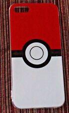 NIB US SHIPPER POKEMON Red White Pokeball  Iphone 6 phone Case Cover Go