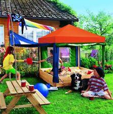 Sandkasten Benjamin Spielhaus mit buntem Dach - Sandbox - Sandkiste
