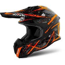 Airoh Terminator Open Vision Fuoristrada Enduro Casco Motocross - Carnage S