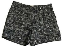 Anthropologie Navy/Gold Shorts Size 4 Small