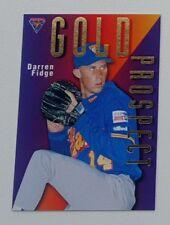 1996 Futera ABL Australian Baseball Gold Prospect #GP4 Darren Fidge