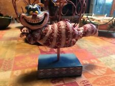 Retired Walt Disney Traditions Jim Shore Grinning Cheshire Cat