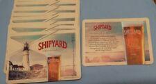 10 Shipyard Beer Mats *NEW*