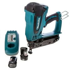 Makita GF600SE 15-64mm 7.2v Second Fix Gas Nailer Nail Gun LXT Lithium Cordless