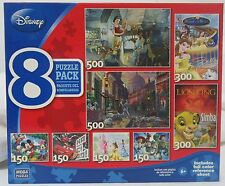 MEGA Brands Disney 8 Puzzle Pack A 12062 PP with Poster