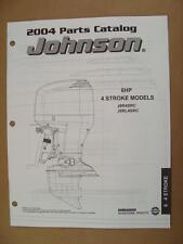 2004 Omc Johnson Sr 6 Hp 4 Stroke Outboard Motor Engine Parts Catalog 5005778